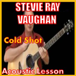 learn to play cold shot by stevie ray vaughan