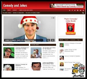 WordPress / Comedy Blog - Includes Web Hosting on our Namecheap Server | Software | Design Templates