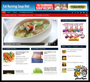 WordPress / Soup Diet Turnkey Blog - Includes Web Hosting on our Namecheap Server | Software | Design Templates