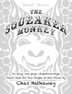 The Squeaker Monkey Sheet Music PDF | eBooks | Sheet Music