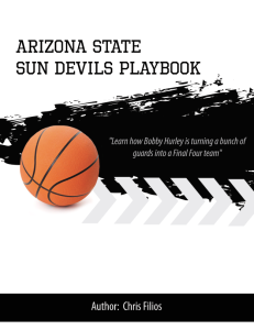 arizona state university playbook