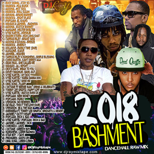 dj roy bashment 2018 dancehall mix vol.10