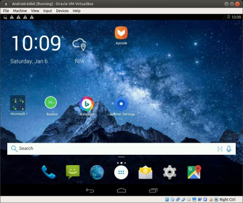 First Additional product image for - Android-x86 4.4.4 KitKat - version 10 with kernel 4.4.0-exton-android-x86, GAPPS, Bluetooth and Mesa