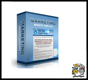 Marketing Minisite Template 2 | Software | Design Templates