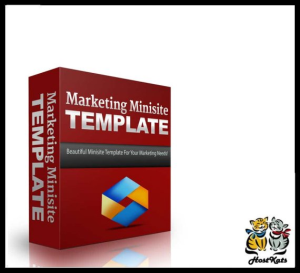 Marketing Minisite Template 3 | Software | Design Templates