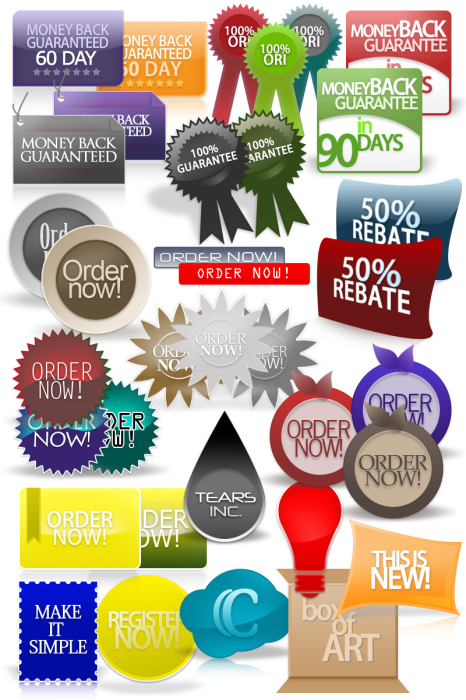 First Additional product image for - 20 MiniSite Graphics Pack
