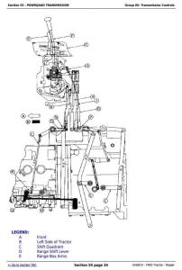 download john deere 7405 tractor service repair manual tm 6014