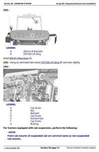 download john deere 7200r, 7215r, 7230r, 7260r, 7280r tractors service repair manual tm110119