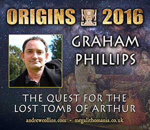 GRAHAM PHILLIPS The Quest for the Lost Tomb of Arthur | Movies and Videos | Documentary