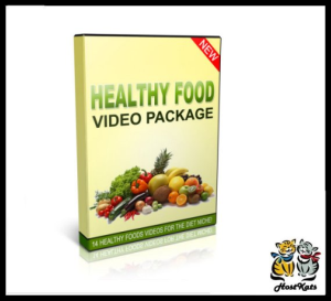 14 healthy food videos package