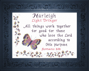 name blessing - harleigh