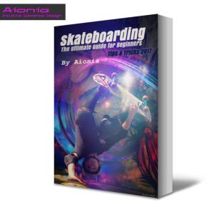 skateboard boy - (non fiction kindle book cover)