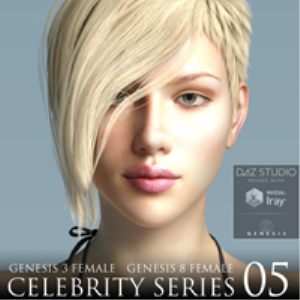 Celebrity Series 05 for Genesis 3 and Genesis 8 Female | Software | Design