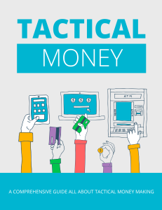 Tactical Money | eBooks | Business and Money