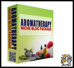 aromatherapy plr niche blog