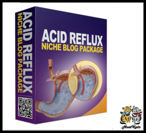 Acide Reflux PLR Niche Blog | Software | Design Templates