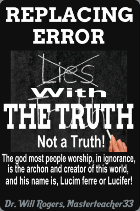 First Additional product image for - Replacing Error With The Truth