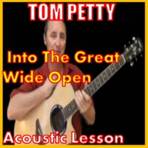 learn to play into the great wide open by tom petty