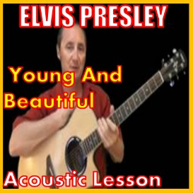 First Additional product image for - Learn to play Young And Beautiful by Elvis Presley