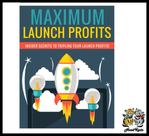 maximum launch profits - ebook