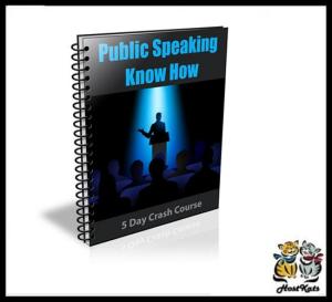 public speaking know how - ebook