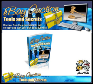 ebay auction tools and secrets - ebook