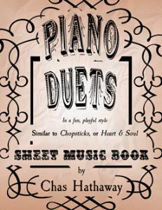 piano duets sheet music book