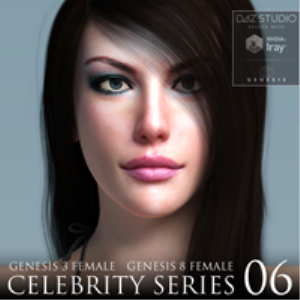Celebrity Series 06 for Genesis 3 and Genesis 8 Female | Software | Design