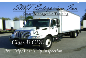 smt enterprises inc. class b pre trip inspection
