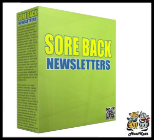Sore Back PLR Newsletters - PLR Articles | eBooks | Business and Money