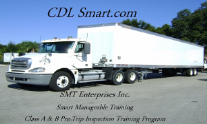smt enterprises inc. class a pre trip inspection