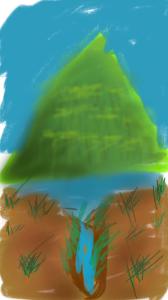 mountain tip