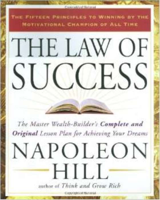 """First Additional product image for - Laws of Success """"THINK and Grow Rich"""" Napoleon Hill"""