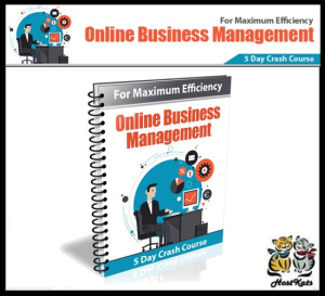 online business management crash course - ebook