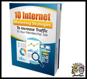 10 internet marketing strategies to increase traffic to your membership site - ebook