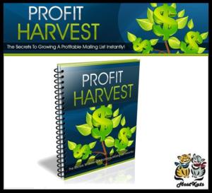 profit harvest - ebook