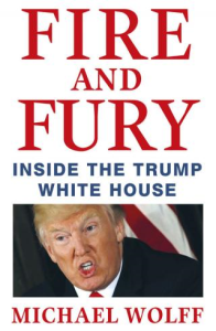 fire and fury  by  michael wolff, 2018