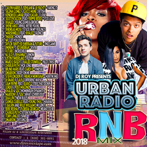dj roy urban radio r&b mix vol.1 2018