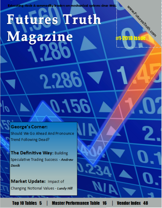 First Additional product image for - Top Consistent Report PLUS Annual Subscription to Futures Truth Magazine
