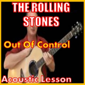 learn to play out of control by the rolling stones
