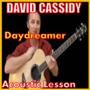 learn to play daydreamer by david cassidy