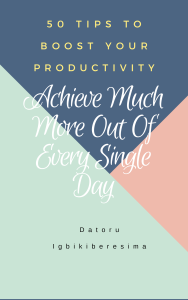 50 Tips To Boost Your Productivity | eBooks | Self Help