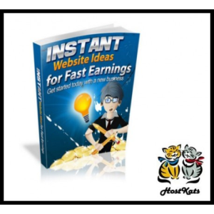 Instant Website Ideas for Fast Earnings | eBooks | Reference