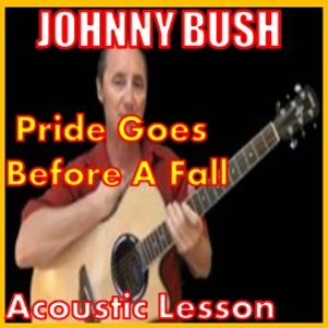 learn to play pride goes before a fall by johnny bush