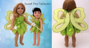 wrap & tie fairy dress