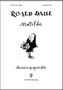 Matilda   eBooks   Teens