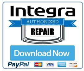 integra dtr 8.4 original service manual