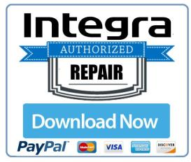 integra drx 4 original service manual
