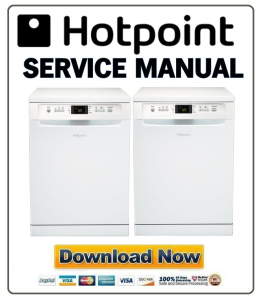 hotpoint fdfsm 31111 p dishwasher service manual