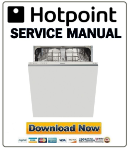 hotpoint ltb 4m116 dishwasher service manual